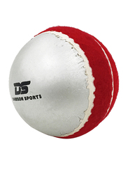 Dawson Sports Irish Swing Cricket Ball, Silver/Red