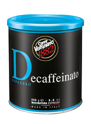 Caffe Vergnano Decaffeinated Ground Coffee, 250g