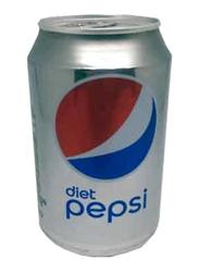 Pepsi Diet Soft Drink, 24 Cans x 330ml