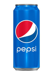 Pepsi Regular Soft Drink, 24 Cans x 330ml