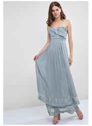 TFNC London Glori Sleeveless Maxi Dress, Large, Light Green