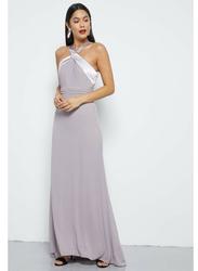 TFNC London Janah Sleeveless Maxi Dress, Medium, Lilac