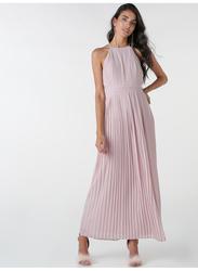 TFNC London Serene Sleeveless Maxi Dress, 26 UK, Light Pink
