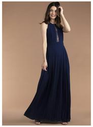 TFNC London Haven Sleeveless Maxi Dress, Large, Navy Blue