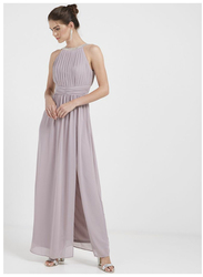 TFNC London Martha Sleeveless Maxi Dress, Large, Grey