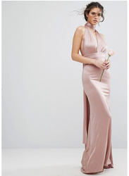 TFNC London Sleeveless Tall Multiway Maxi Dress, Double Extra Large, Beige