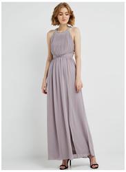 TFNC London Laurel Sleeveless Maxi Dress, Medium, Grey