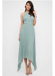 TFNC London Morely Sleeveless Maxi Dress, Extra Large, Light Green