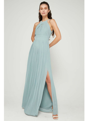 TFNC London Marilyn Sleeveless Maxi Dress, Small, Light Green