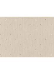 Zambaiti Parati Karat Dots Print Wallpaper, 0.53 x 10 Meter, Gold