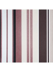 ID-Art Stripes Mystique Wall Covering, 10 x 0.53 Meter, Brown/Copper