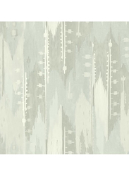 Wallquest Villa Flora Stripes Pattern Wallpaper, 10 x 0.53 Meter, Grey