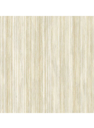 Wallquest Platinum Plain Pattern Wallpaper, 0.53 x 10 Meter, Beige