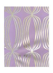 Prestigious Textiles Euphoria Geometrical Designed Wallpaper, 10 x 0.53 Meter, Lavender/Gold