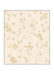 York Fitness Floral Vine Charleston II Wallpaper, Beige