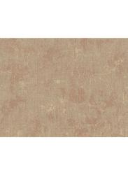 Wallquest Serafina Plain Printed Wallpaper, 0.53 x 10 Meter, Brown/Beige