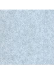 SK Filson Tudor Rose Plain Pattern Wallpaper, 10 x 0.53 Meter, Blue