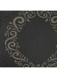 Selecta Parati Versilia Ornament Wallpaper, 10 x 0.53 Meter, Black/Beige