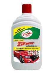 Turtle Wax 500ml Zip Wax Super Concentrated Car Wash Shampoo & Wax, T75