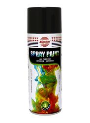 Asmaco Spray Paint, DXB03, 400ml, Black