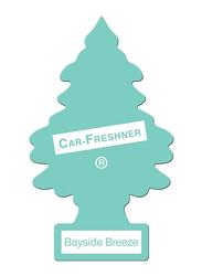 Little Trees Card Bayside Breeze Car Air Freshener, Light Blue