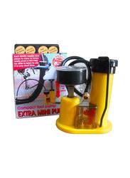 Maagen Mini Foot Pump, Yellow/Black
