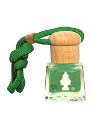 Little Trees Bottle Green Apple Car Air Freshener, Green