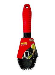 Smart Car Wheel Brush, SC-005, Black/Red