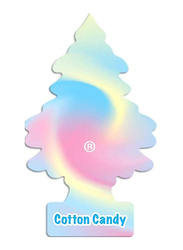 Little Trees Cotton Candy Air Freshener, Pink/Blue/Yellow