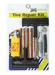 Xcessories Co2 Tire Repair Kit, Black