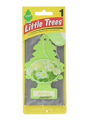 Little Trees Card Jasmine Air Freshener, Green
