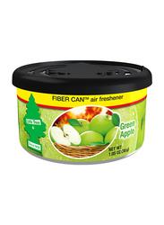 Little Trees Fiber Can Green Apple Car Air Freshener, 30gm, Green/Black/Yellow
