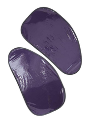 Xcessories Static Cone Shaped Side Sunshade, Purple, 2 Pieces