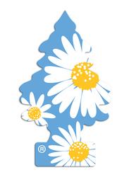 Little Trees Daisy Field Paper Air Freshener, Blue/White