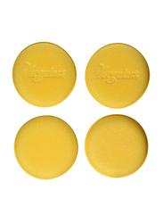 Meguiar's 4-Piece Foam Applicator Pad, 4-inch, Yellow