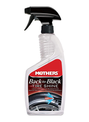 Mothers 710ml Back To Black Car Tire Shine, Clear