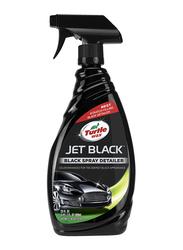 Turtle Wax 680ml Jet Black Spray Detailer, Black