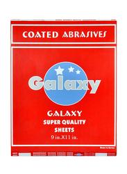 Galaxy 60 Abrasive Paper Sheets, Black