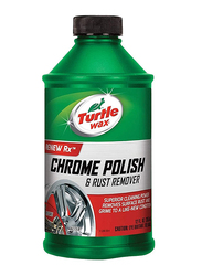 Turtle Wax 354ml Liquid Chrome Polish & Rust Remover
