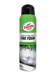 Turtle Wax 532ml Wet'n Black Tire Foam and Shine, Green