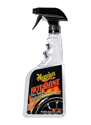 Meguiar's 709ml G12024 Hot Shine Polish Tire Spray, Clear