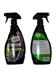 Turtle Wax 2-Piece Wetn Black Tire Shine Liquid, Black