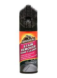 Armor All 400ml Stain Remover Foam Cleaner Brush, Black
