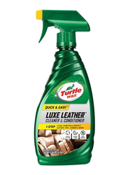 Turtle Wax 473ml Quick and Easy Luxe Leather Cleaner and Conditioner, Green