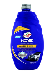 Turtle Wax 1.42Ltr Ice Premium Wash & Wax Car Care, Blue