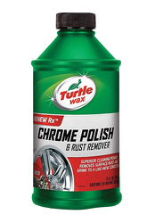 Turtle Wax 355ml Chrome Polish and Rust Remover Liquid