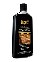Meguiar's 414ml Gold Class Rich Leather Cleaner and Condition, Black
