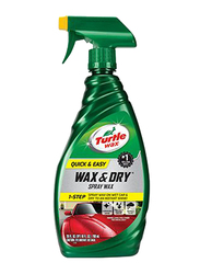 Turtle Wax 26Oz Wax and Dry Spray Mix