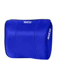 Sparco Neck Pillow Perforated PVC + Memory Foam, Blue