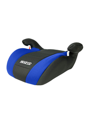 Sparco F100K Booster Seat, Blue/Black